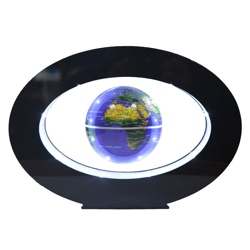 2017 Rushed New Novelty Decoration Magnetic Levitation Floating Globe World Map With Led With Electro Magnet And Field Sensor ...