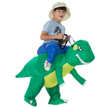 2019 Inflatable Dinosaur Costumes Blowup horse Cosplay Halloween Costume Mascot Party costume for Adult Kids