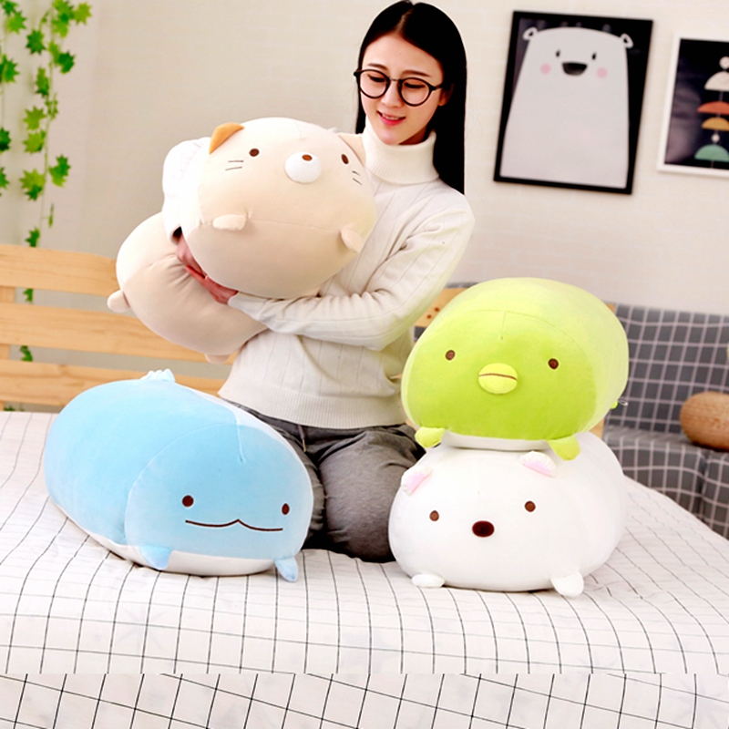 Blue San-X Corner Pillow Japanese Animation Sumikko Gurashi Stuffed Plush Toys
