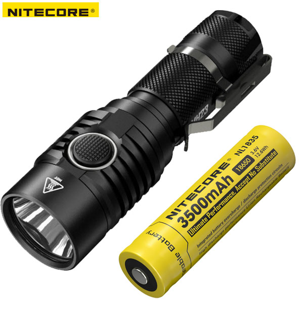 2018 New Nitecore MH23 CREE XHP35 HD 1800 Lumens LED USB Rechargeable Flashlight including Nitecore battery nitecore ea42 4xaa 2100mah rechargeable battery 1800lms cree xhp35 hd flashlight outdoor hiking rescue portable waterproof torch