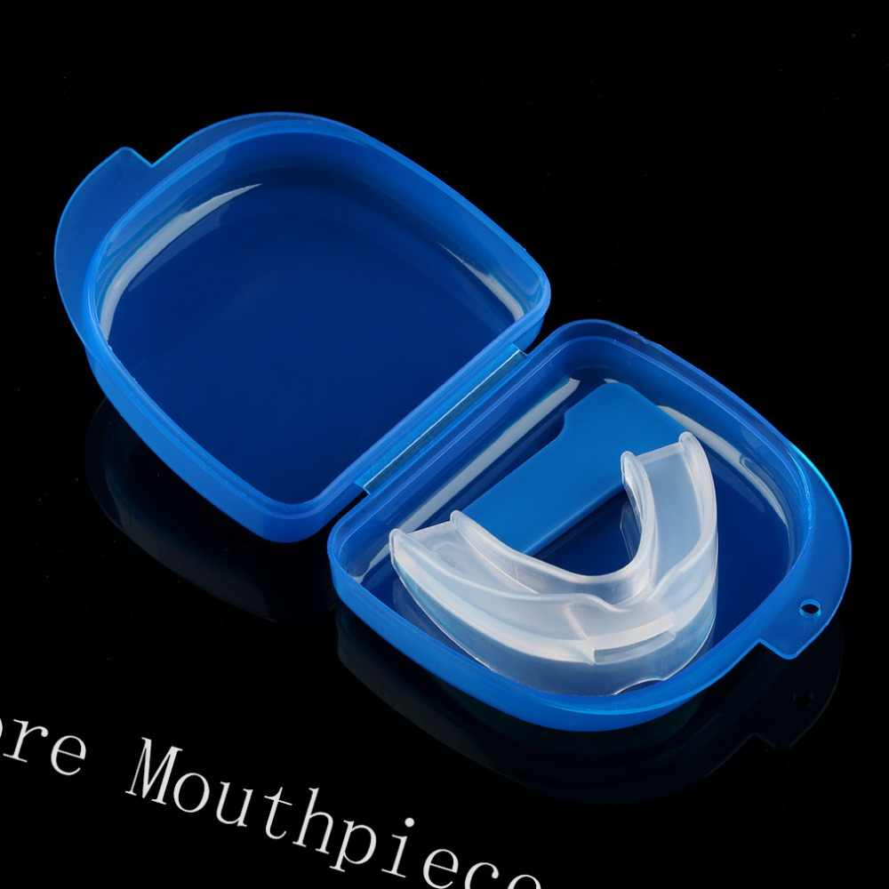Silicone Parar Ronco Anti Snore Bocal Apnea Guard Bruxismo Tray Mouthguard Dormir Ajuda Ferramentas Oral Care Acessórios