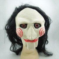 Ha visto Una Maschera con Una Parrucca Film A Tema Halloween Maschera Chainsaw Massacre per il Partito Cosplay Giocattoli Film A Tema Puntelli Fornitura