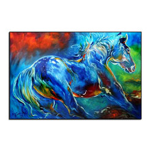 colorful horse Diy diamond painting cross stitch full embroidery europe home decoration square drill animal series