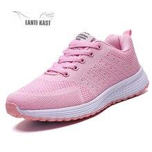 New Women Sneakers Casual Sport Shoes Woman Flat Summer Mesh Ladies Running Shoes Footwear Basket Sneakers кроссовки женские