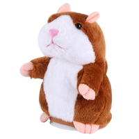 Cute Lovely Talking Hamster Plush Toy Sound Record Hamster Funny Sounding Toys
