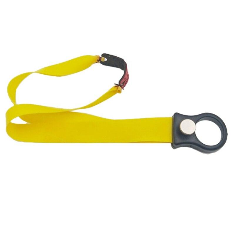 Resin Frameless Spring Fast Compression Slingshot Flat Leather Without Frame Ring Bow Slingshot Accessories