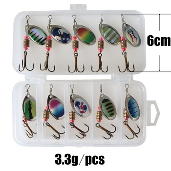 Amazing 10pcs/lot LUSHAZER fishing spoon lures spinner bait Fishing Lures cb5feb1b7314637725a2e7: 10pcs with box A 10pcs with box B 10pcs with box E 10pcs with box F 20pcs with box D