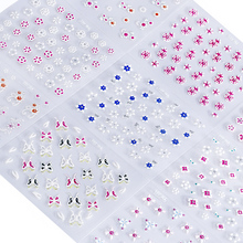 1 Set 30pcs Nail Art Water Transfer Stickers  Colorful Flower Pattern Decal Sticker for Gel Polish Decals Decor NTL-07
