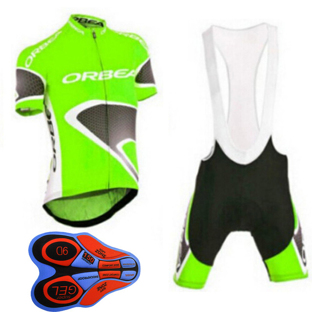 ef5abf8e7 2018 orbea pro team Summer cycling jersys bib shorts 9d gel shirts Bike  maillot ropa ciclismo clothing mountain sportwear 9D pad