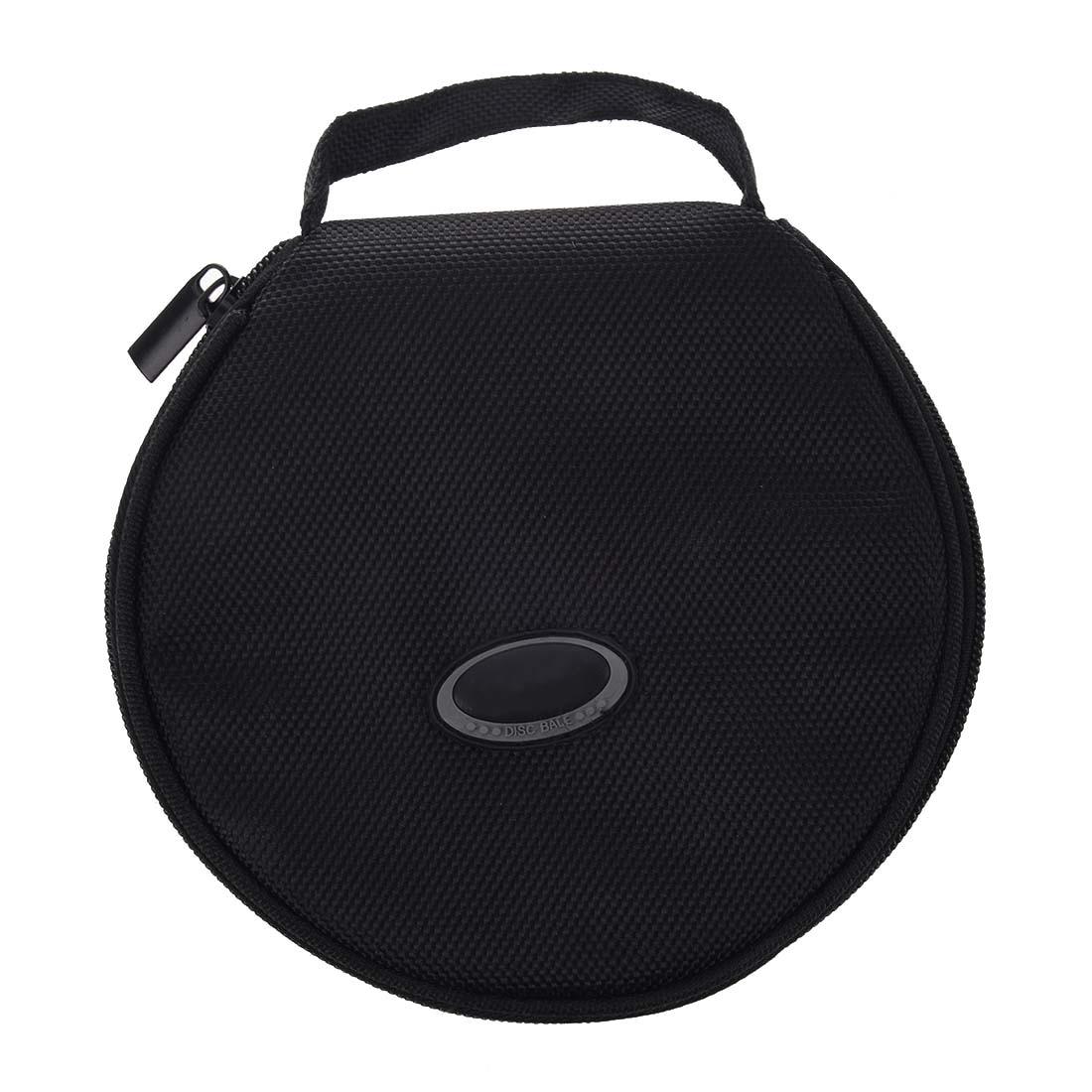 HFES New Home Car Zip up DVD CD Discs Holder Pocket Black Storage Bag