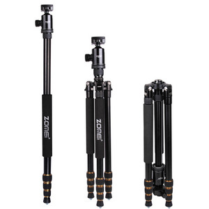 Image 1 - ZOMEI Z688 professionnel Portable caméra trépied support monopode pour appareil photo numérique DSLR avec rotule