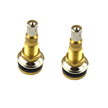 2 Pieces Lawn Garden Tractor Air Water Wheel Tubeless Tire Valve Stem TR618A