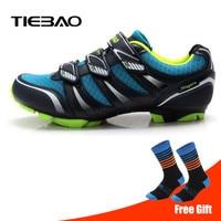 Tiebao Cycling Shoes Sapatilha Ciclismo Mtb man 2019 Professional Mountain Bike Shoes Men sneakers women Shoes Biking Triathlon
