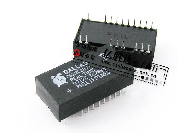 Cheap price of sales news DS12C887+ DS12C887 DALLAS brand Whole series of Real-time clock chip integrated circuits