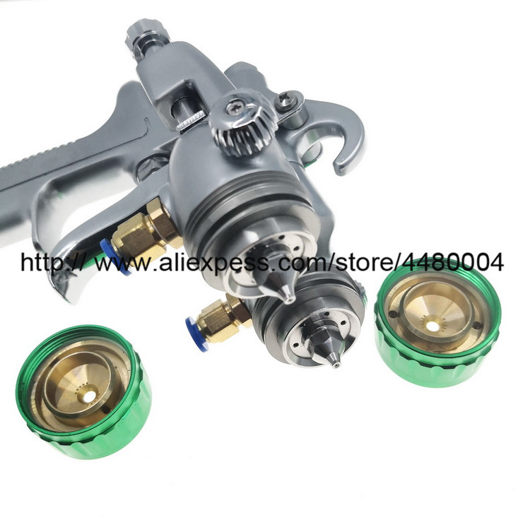 Double Nozzle Spray Gun (4)