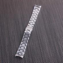 20 мм 22 мм Серебристый твердый ремешок из нержавеющей стали для часов TAG HEUER CARRERA Calibre 1887