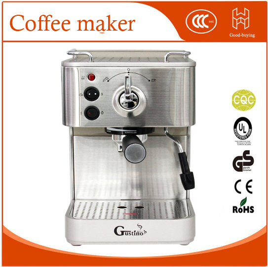 19bar Semi Automatic Coffee Maker Espresso Machine With Froth Milk Stainless Steel 304 Housing For Home Or Office Using In Makers From
