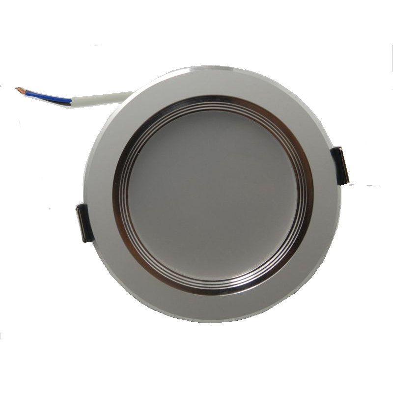 20pcs / tétel LED Downlight CE-meghajtó nélküli 220 V-os, 5 W / - LED Világítás - Fénykép 2