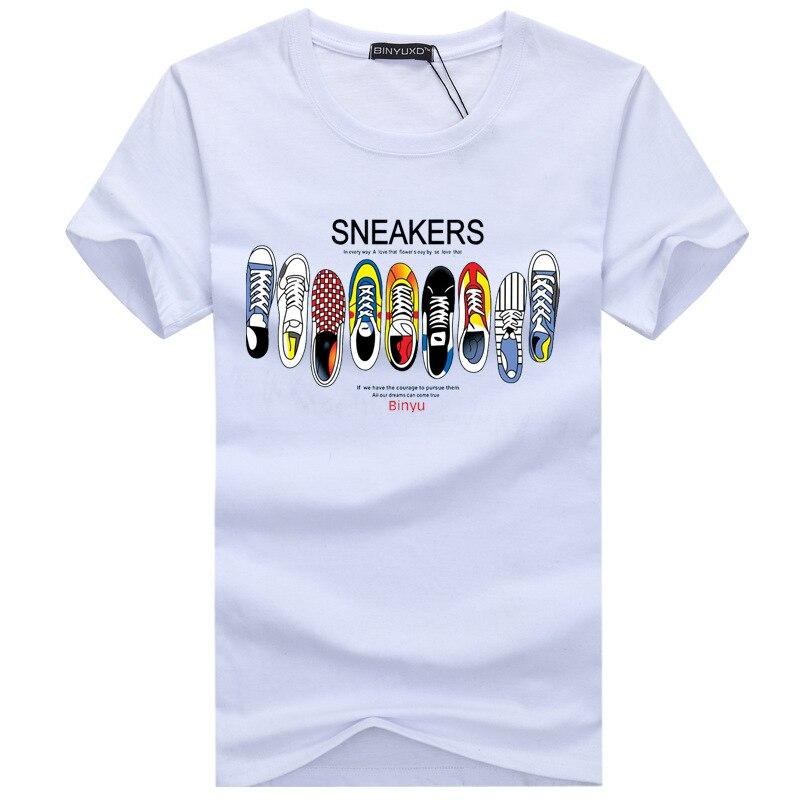 2018 여름 남자 티셔츠 코튼 플러스 사이즈 S-5XL 캐쥬얼 오크 티 셔츠 옴므 반팔 티셔츠 남성 프린트 티셔츠