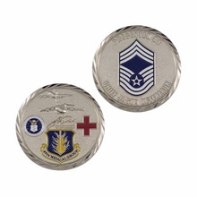 Custom silver coin manufacturers OEM low cost military coins cheap custom engraved enamel