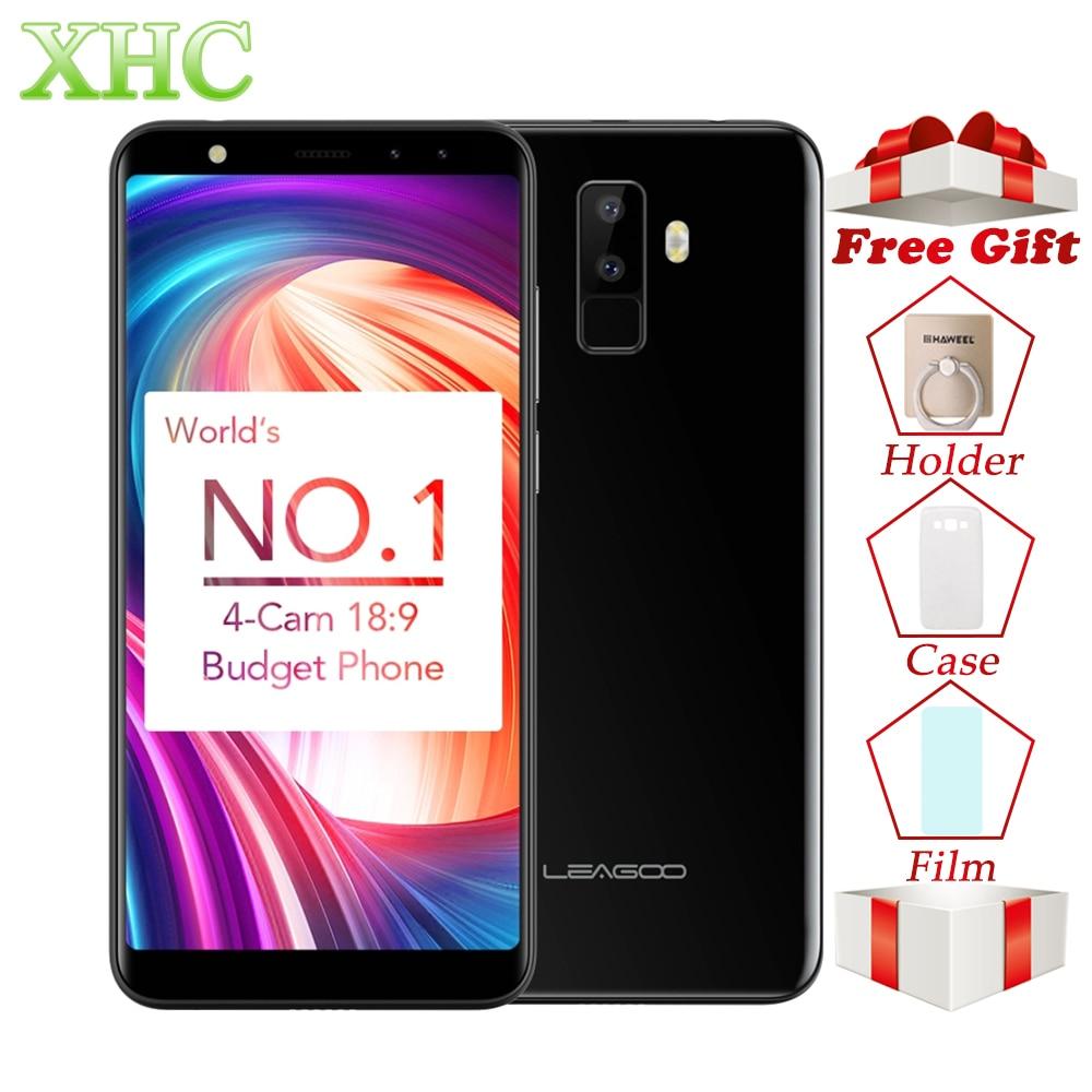 LEAGOO M9 WCDMA 3g Smartphones 5.5 18:9 Plein Écran Android 7.0 MT6580A Quad Core RAM 2 gb + ROM 16 gb FOTA Dual SIM Téléphones Mobiles