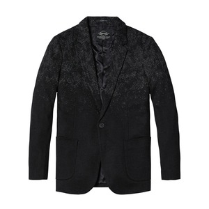 Image 5 - SIMWOOD 2020 Winter New Mix Wool Blazers Men Fashion Print Suits Male Single Button Jackets High Quality Coats Clothes XZ6109