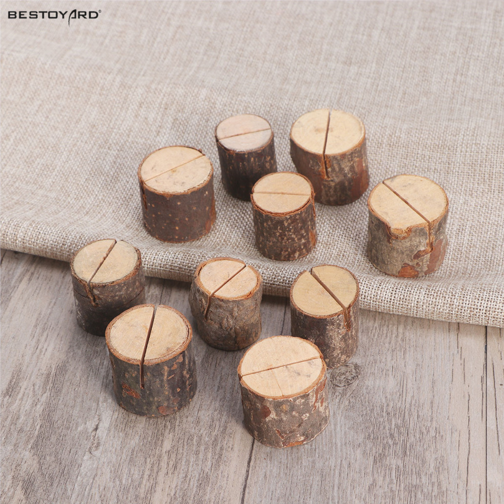 10pcs Wedding Decoration Products Supply Wooden Wedding Name Place