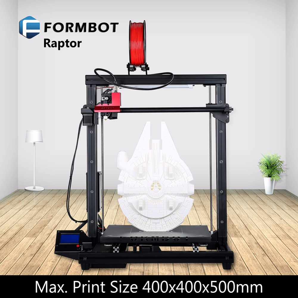 FORMBOT Raptor 2017 3D printer office supplies crafts for students teachers salesman machines 3d stampante
