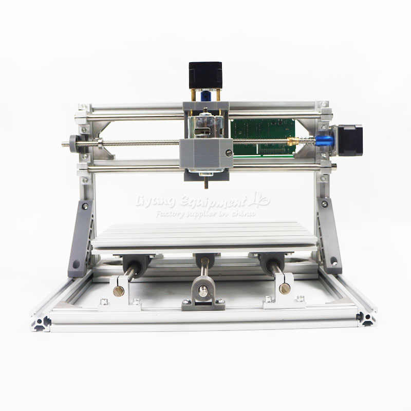 Bricolage Mini CNC 2418 PRO 500mw 2500mw 5500mw laser tête machine de gravure Pcb fraisage routeur sculpture sur bois machine