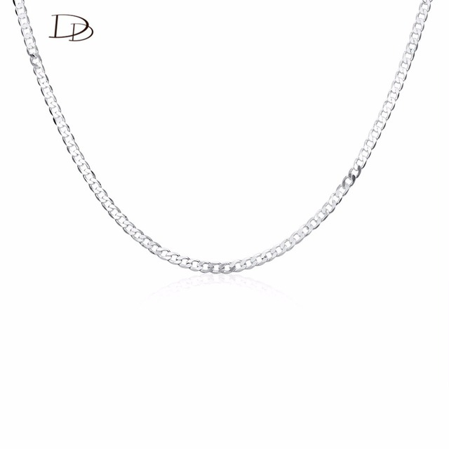 Bohemia 585 white gold color design neck wide 4mm multi sizes long bohemia 585 white gold color design neck wide 4mm multi sizes long necklaces pendants aloadofball Gallery