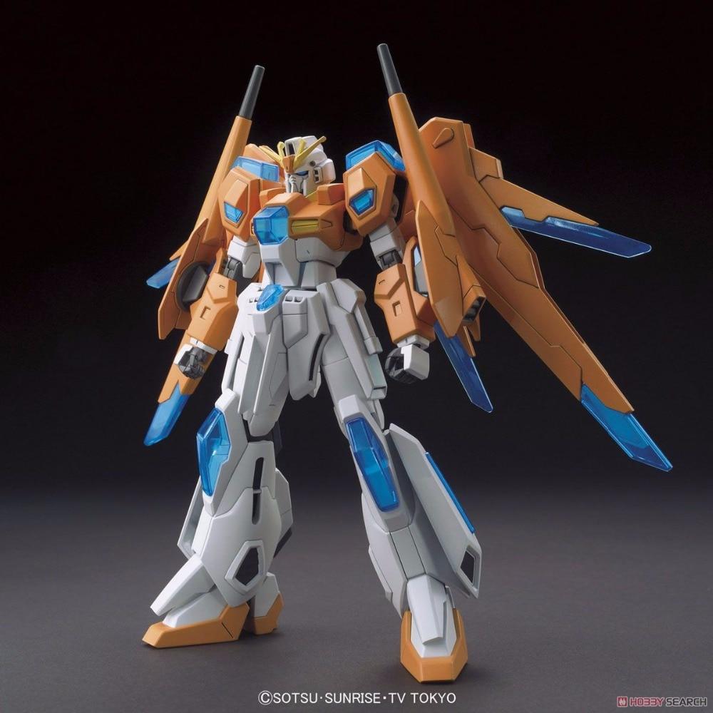 Gundam Build Fighter Bandai HGBF 047 Scrambled Gundam 1/144 Gundam hobby model building toys kids bandai bandai gundam model sd q version bb 309 sangokuden wu yong bian xiahou yuan battle