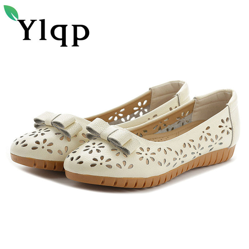 Ylqp 2018 summer mom soft bottom shoes low heels shallow genuine leather pumps female casual comfortable shoes chaussure homme aiyuqi 2018 new spring genuine leather female comfortable shoes bow commuter casual low heeled mother shoes woeme