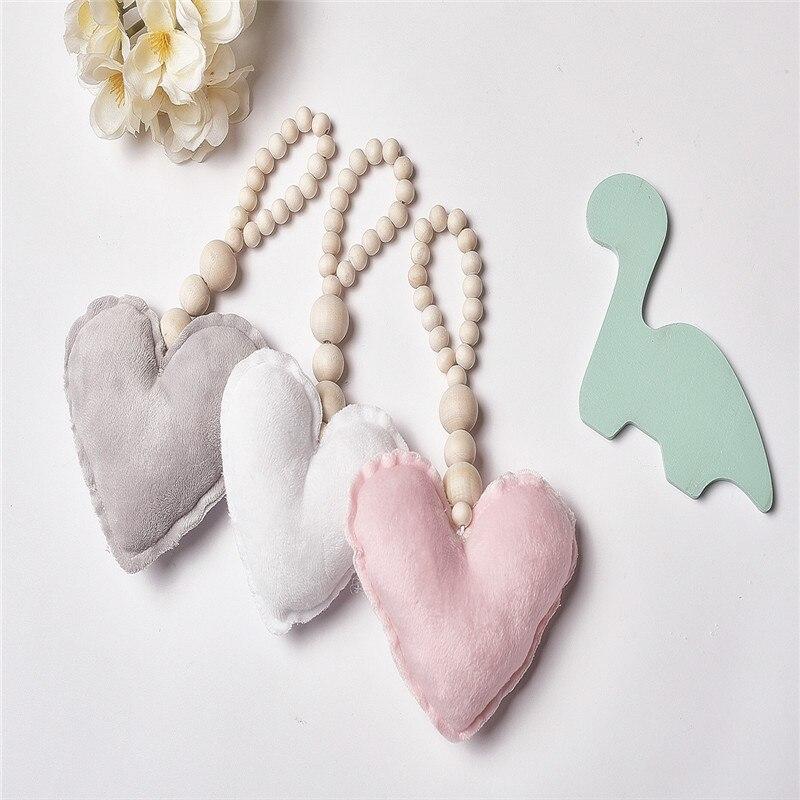 PräZise Diy Holz Webstuhl Sterne Liebe Muster Perlen Spielzeug Für Kinder Hängen Ornamente Kinderzimmer Krippe Weiche Kostüme Kunst Und Handwerk