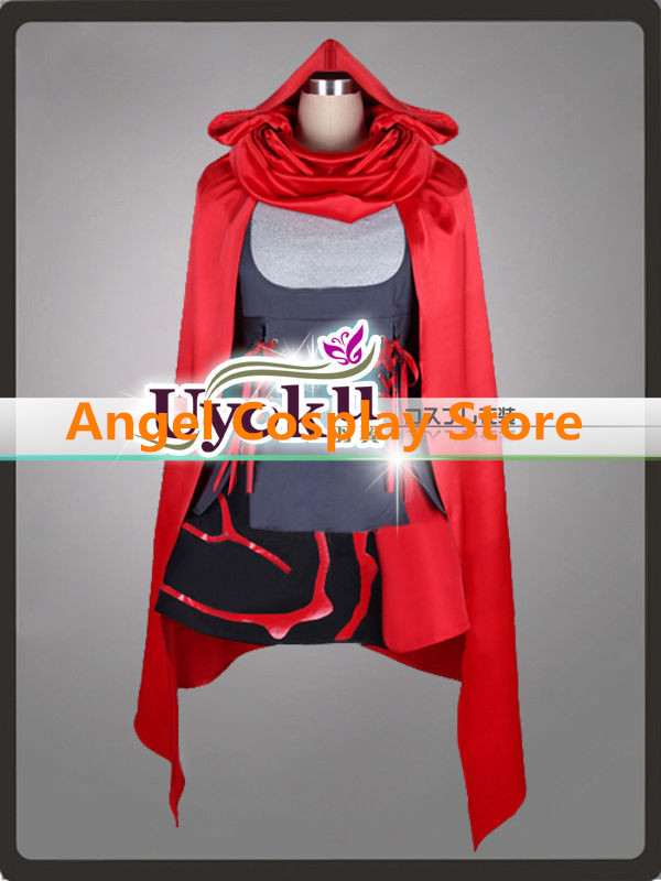 Anime RWBY Ruby Rose Cosplay Costume Roleplay COS Party Dress Customiz Any Size Free Shipping