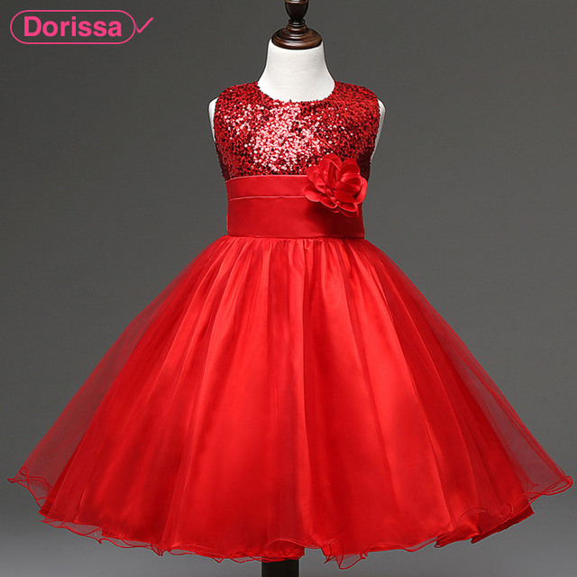 ecd23c180 2016 Brand Summer New Arrival Princess Girls Party Dresses Red ...