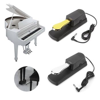 1PC Electric Piano Sustain Damper Pedal MIDI Keyboard Instrument Organ Sustain Pedal