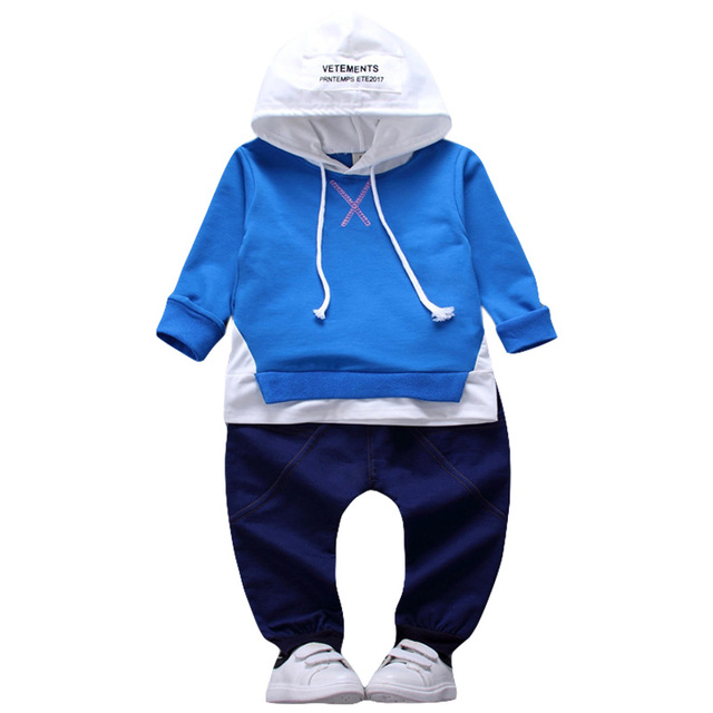 916fdc2d6b0ad US $6.78 46% OFF|Aliexpress.com : Buy Toddler Boys Clothing 2018 Autumn  Winter Boys Clothes Set Hoodie+Pants 2pcs Outfit Kids Clothes Boy Sport  Suit ...
