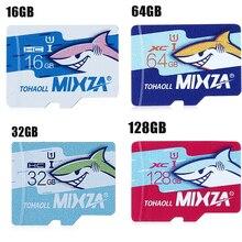 MIXZA Shark Memory Card Micro SD 128GB 64GB 32GB 16GB 8GB 80MB/s TF / MicroSD Card SDHC/SDXC Memory TF Card for Smartphone