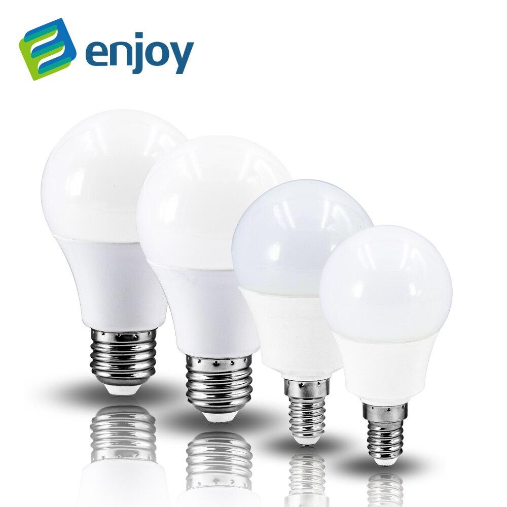 LED lamp LED lights E27 E14 led 4W 6W 7W 9W 12W LED Bulbs 220V 230V 240V Cold white warm white