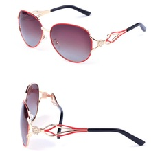 HDCRAFTER Metal Frame Sunglasses Women Brand Designer Vintage Sun Glasses for female Luxury Brand Glasses oculos de sol feminino