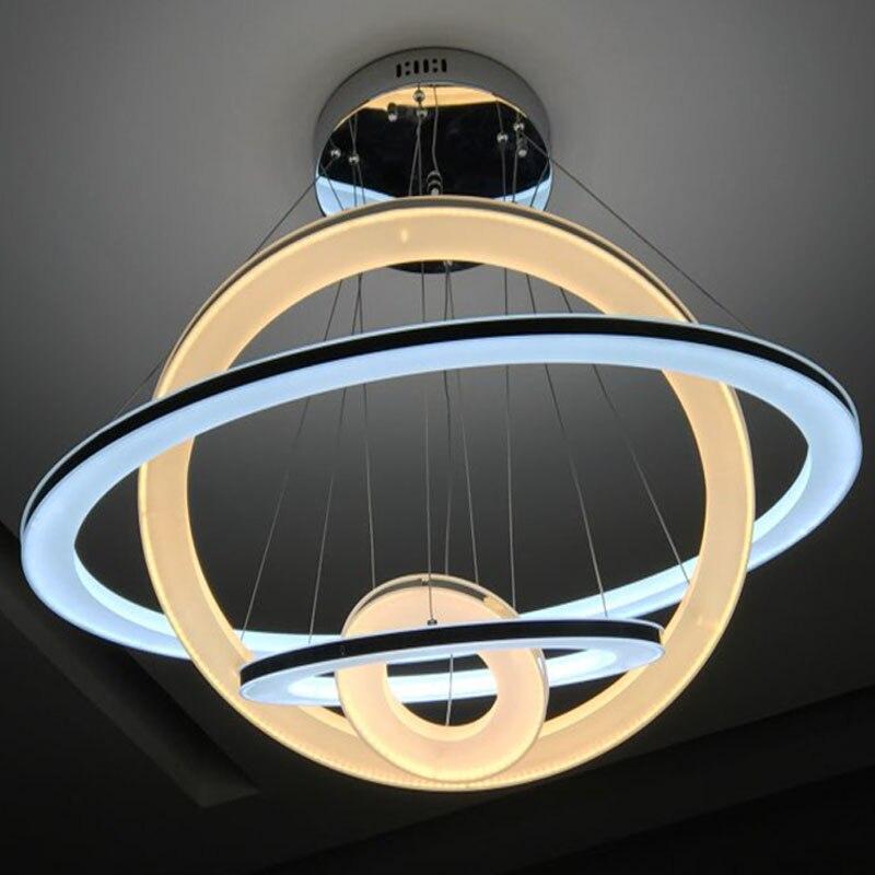 Nova LED svjetiljka s privjeskom Moderna kuhinja akrilna ovjes - Unutarnja rasvjeta - Foto 2