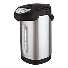 Термопот FIRST FA-5448-5 Stell (Мощность 900 Вт, объем 3,5 л, 3 способа подачи воды, поддержание температуры, автоматическая подача воды касанием чашки)