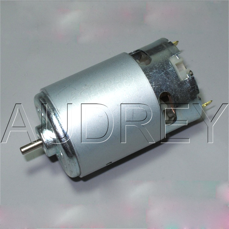 5-12V 17500rpm 1 2A 555 high speed BLDC motor with Wind leaf Replace 550  motor for Model electric tool