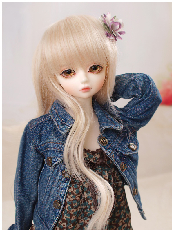 1/4 scale doll Nude BJD Recast BJD/SD Kid cute Girl Resin Doll Model Toys.not include clothes,shoes,wig and accessories A15A259 кукла bjd od 1 4 bjd sd only doll
