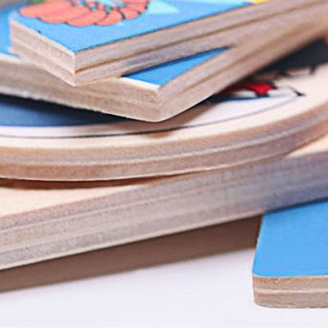 Baby Wooden Toys Magnetic Fishing Game Jigsaw Puzzle Board 3D Jigsaw Puzzle Children Education Toy for Children Random Colors
