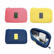 2PCS Shockproof Travel Digital Storage Bag Portable USB Cable Charger Earphone Cosmetic Pouch Organizer