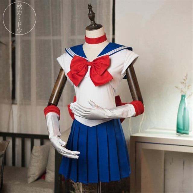 Аниме косплей костюм Сейлор Мун в ассортименте 1