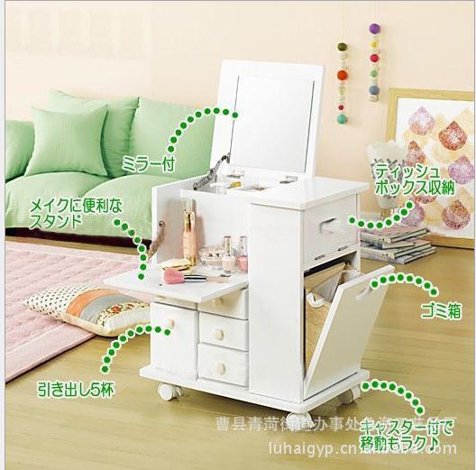 Mirror Vanity Table Set Dressers For Bedroom Multifunctional Solid Wood  Vanity Dressing Table Dressing Cabinet Eco