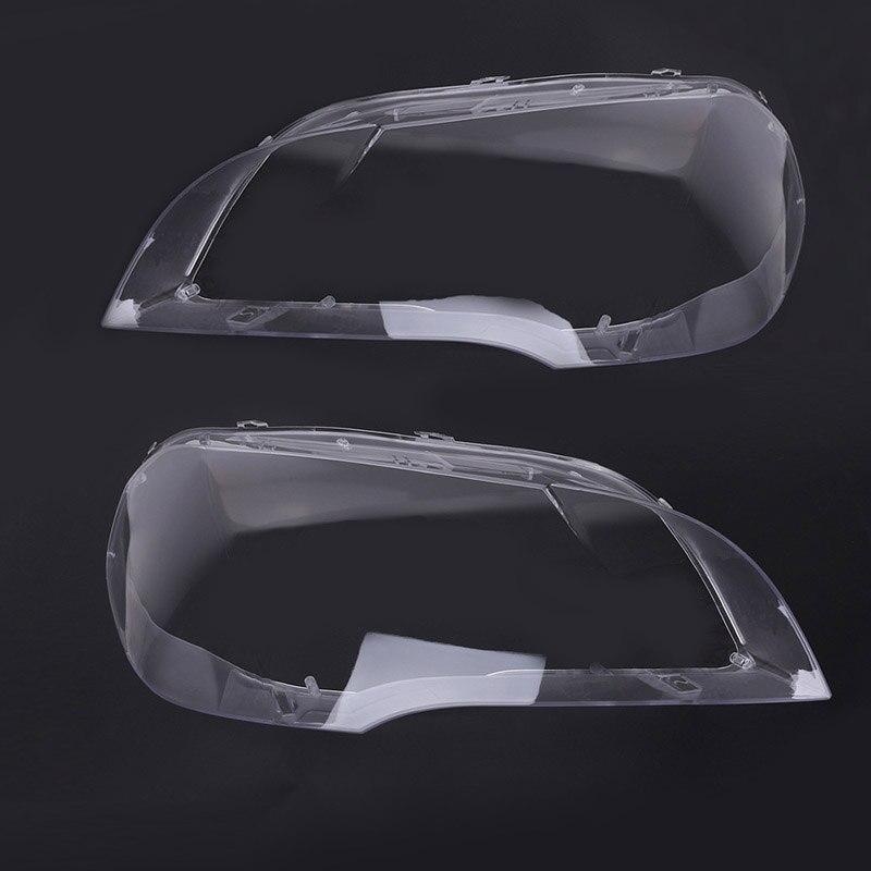1 pc phare lentille abat-jour couvercle remplacement pour BMW E70 X5 08-13 voiture style