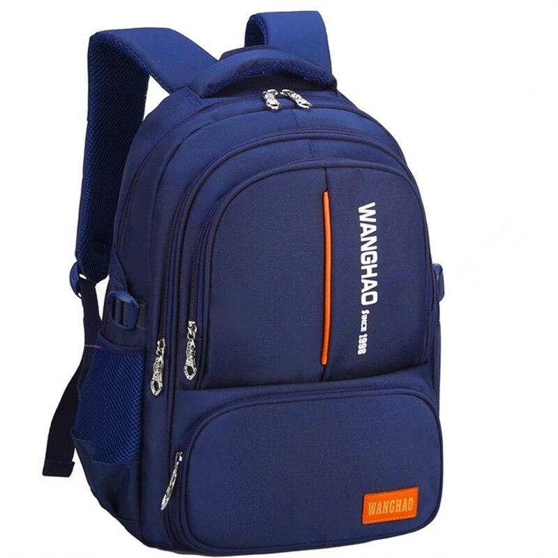 Convient pour les classes 1-9 enfants sac à dos d'école orthopédique sacs d'école pour garçons sacs à dos imperméables enfants cartable écoliers